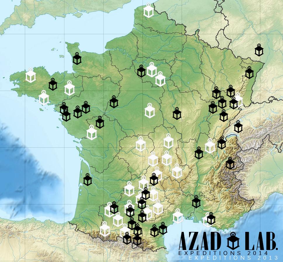 TOURMAP AZAD LAB 2014