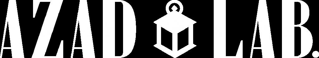 logo azad lab BLANC